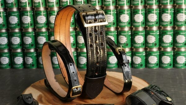 Leather Luster Shined Belts